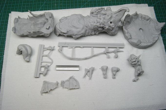 The Rockgnaw kit: high quality grey resin