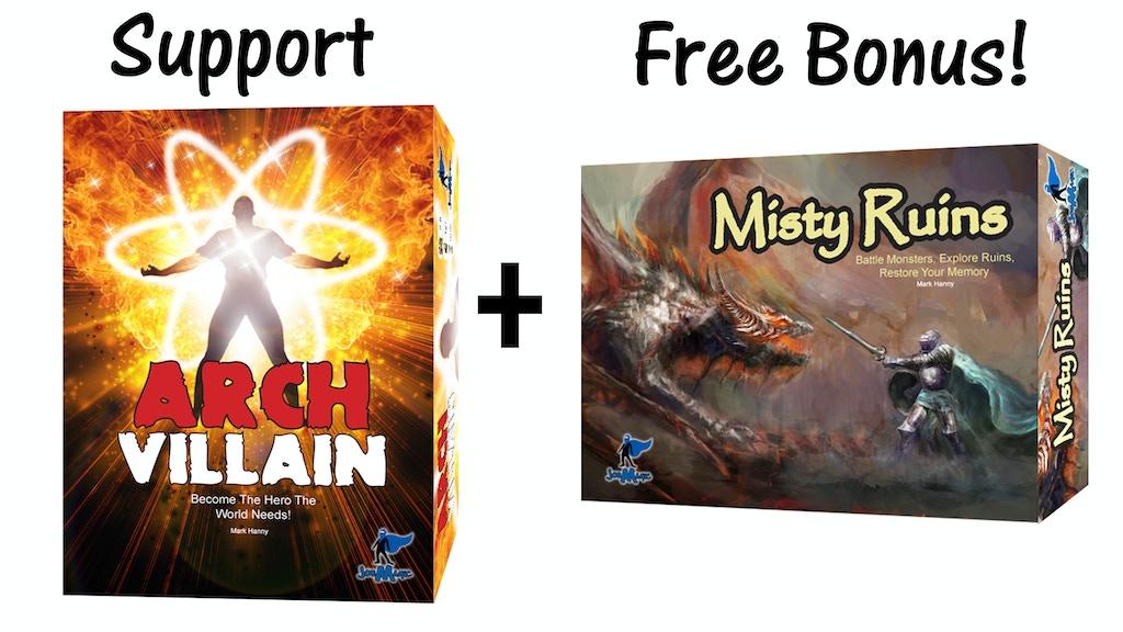 Arch Villain - $35 Plus Free Bonus Game! project video thumbnail