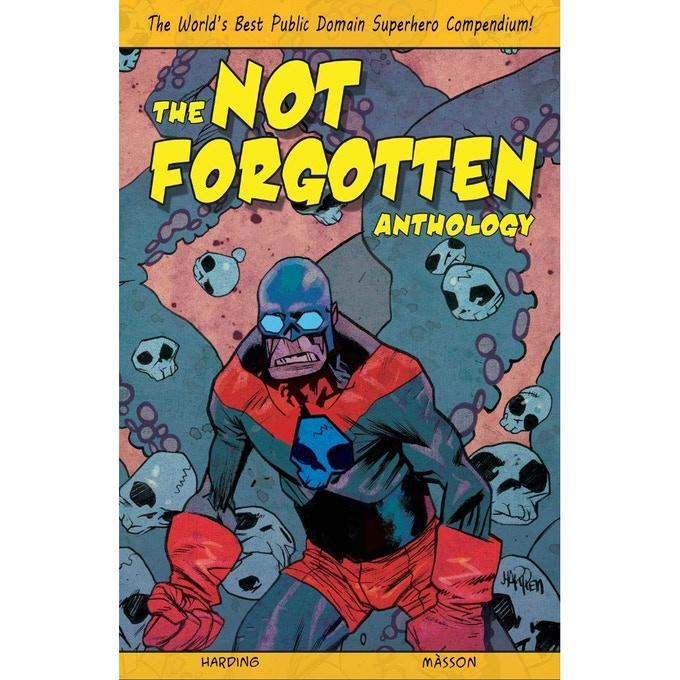 Not Forgotten Anthology, 265 Pages, Printed