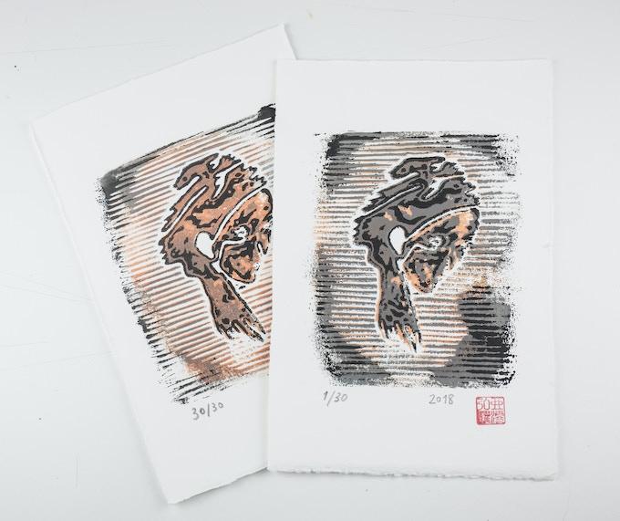 Xylographic prints