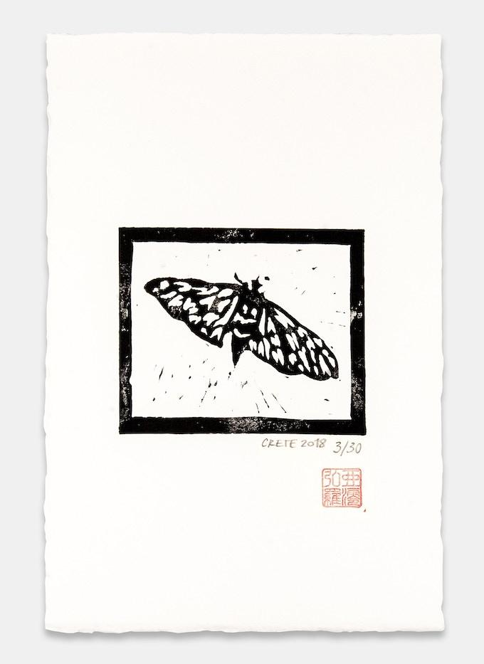 Linographic print