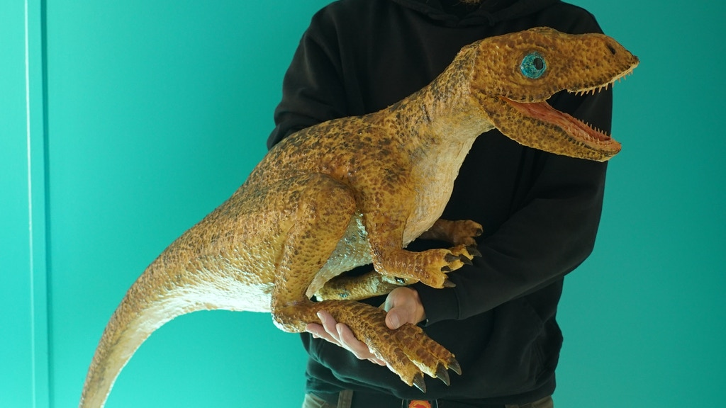 Baby T.rex Dinosaur Puppet! project video thumbnail