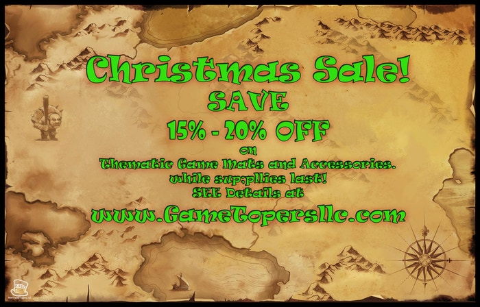 Christmas Sale good till Dec 31st or supplies last.