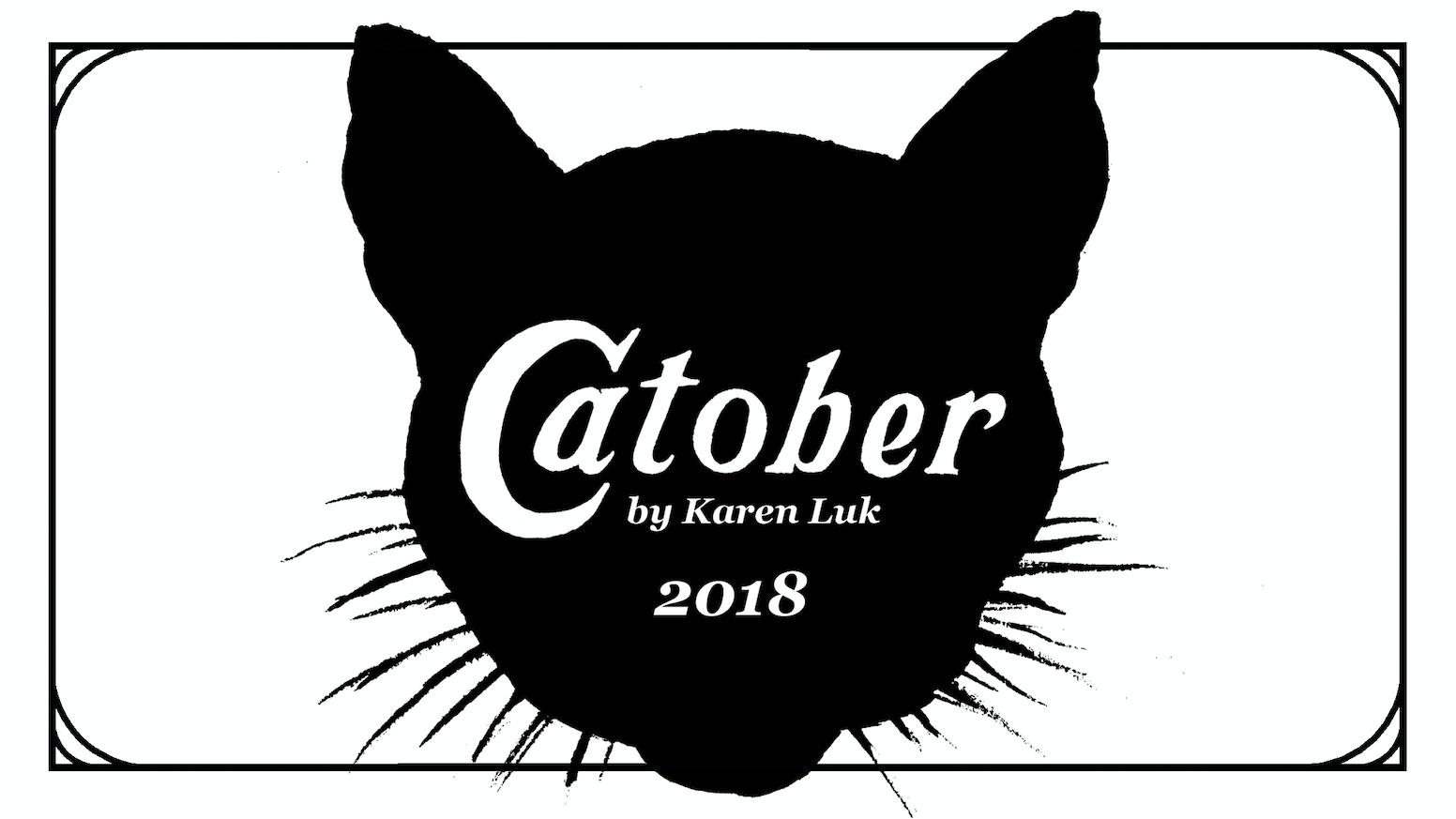 Inktober List 2020.Catober By Karen Luk Kickstarter