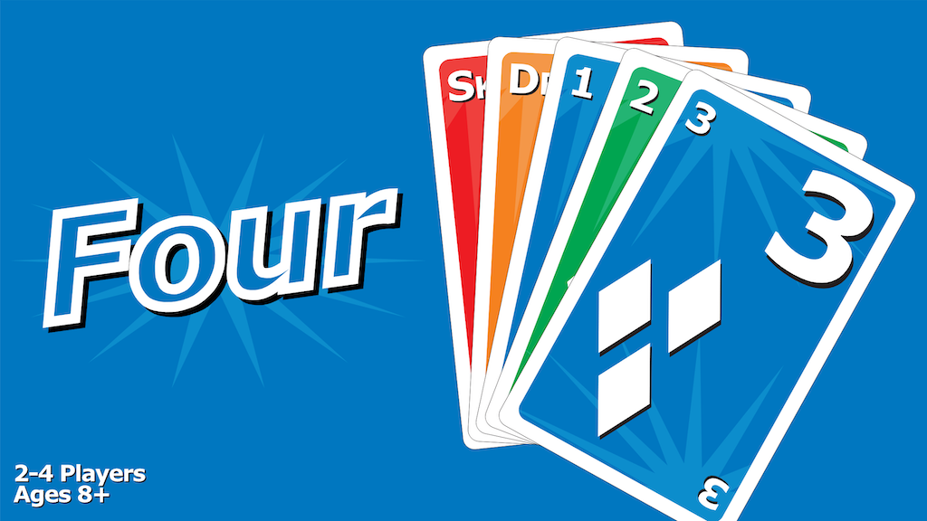 FOUR - A Family Fun Card Game project video thumbnail