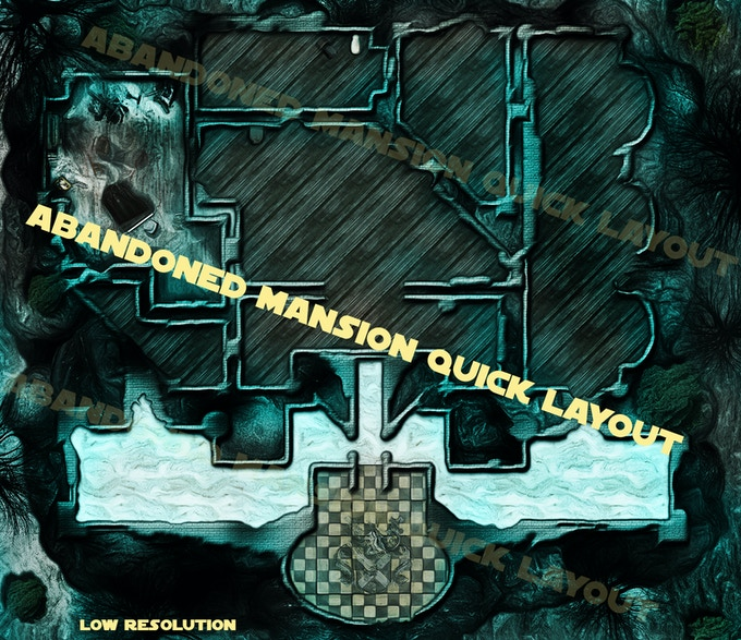 Mansion complete layout low res