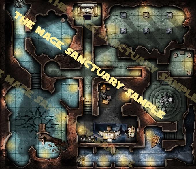 Mage sanctuary full map presentation sample low res