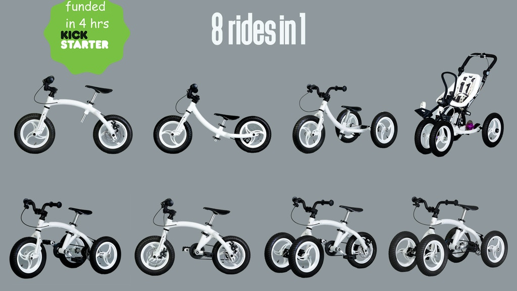 Monkeycycle: The 8-in-1 Bike That Grows With Your Child project video thumbnail