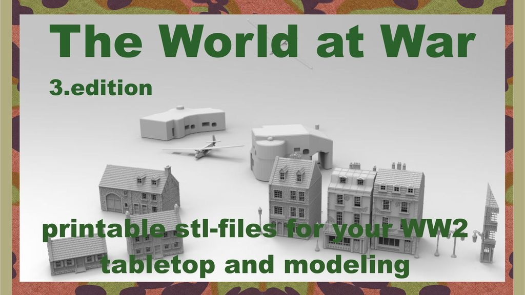 The World at War part III printable terrain project video thumbnail