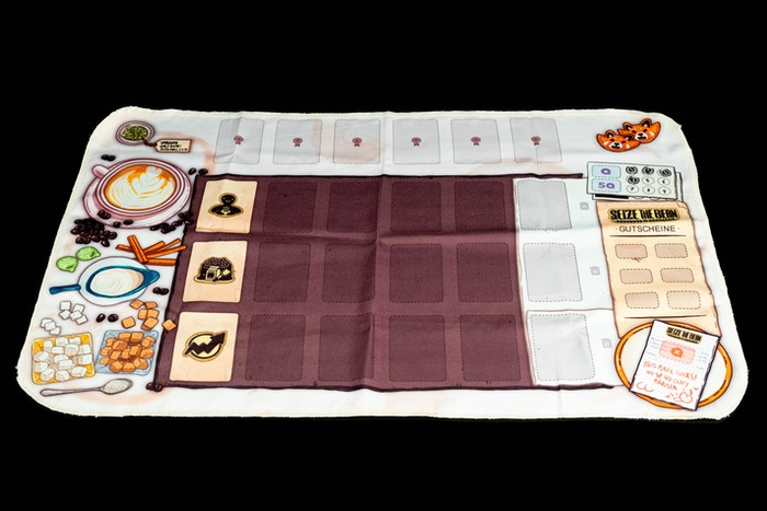 This is the table cloth play mat design. Mario's favorite! :)