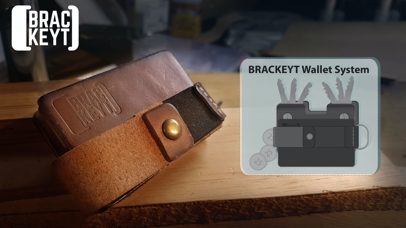 BRACKEYT. The Artisanal EDC wallet re-imagined 