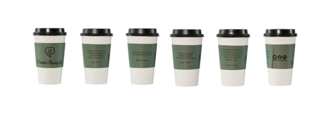 Everyday WarmThoughts Hot Beverage Sleeves