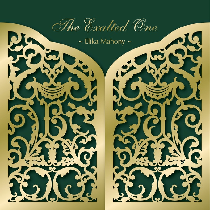 Gold laser cut cover for 'The Exalted One'!