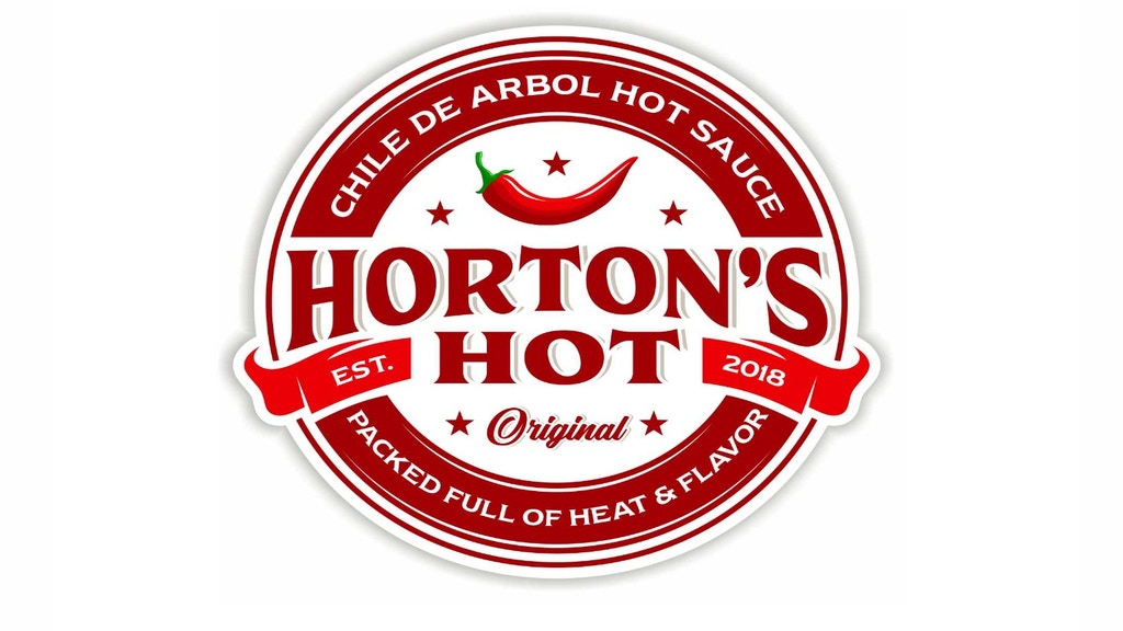 Horton's Hot - Chile De Arbol Hot Sauce! project video thumbnail