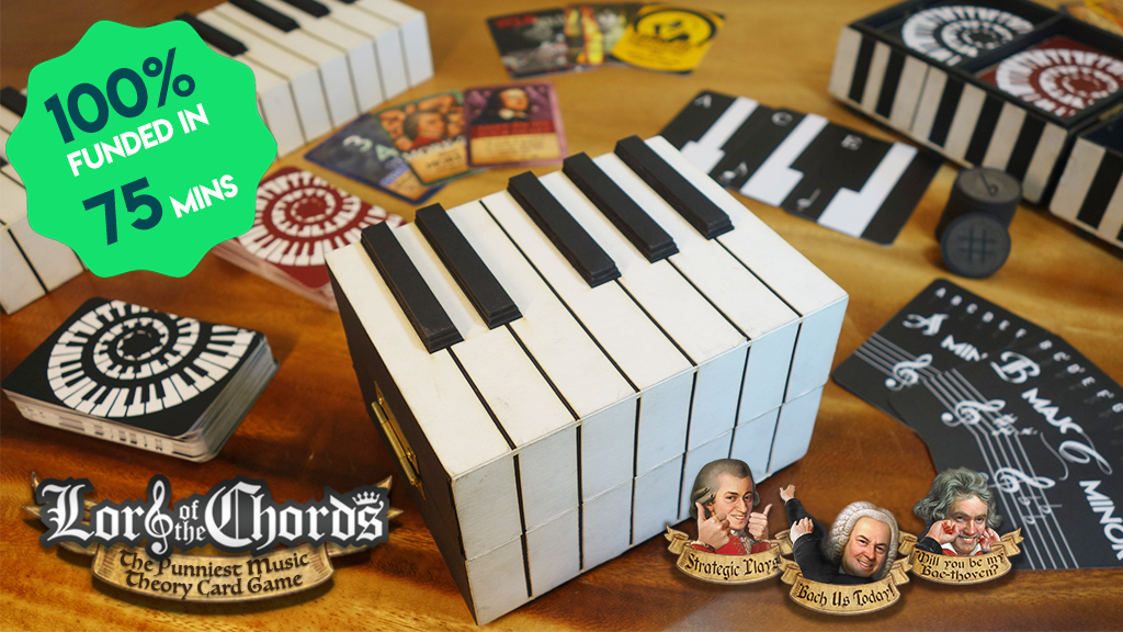 Lord of the Chords: The Punniest Music Theory Card Game!