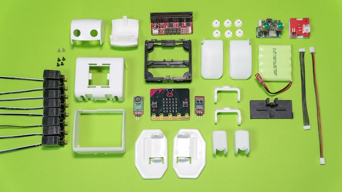 PLEN:bit assembly kit