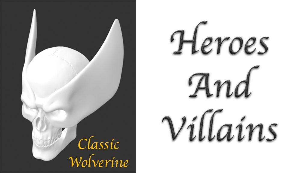 Skulls - Heroes and Villains