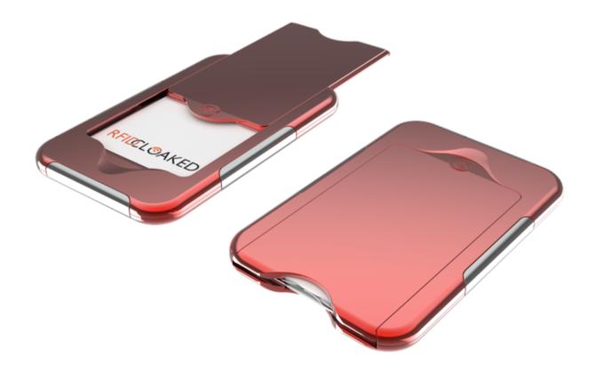 Wallet in Crimson Red