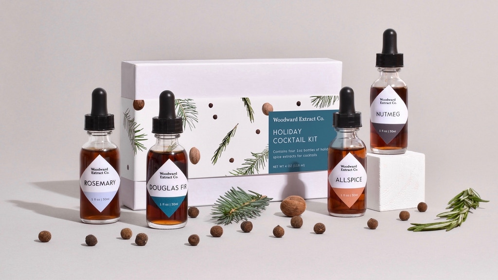 A Holiday Cocktail Kit from Woodward Extract Co. project video thumbnail