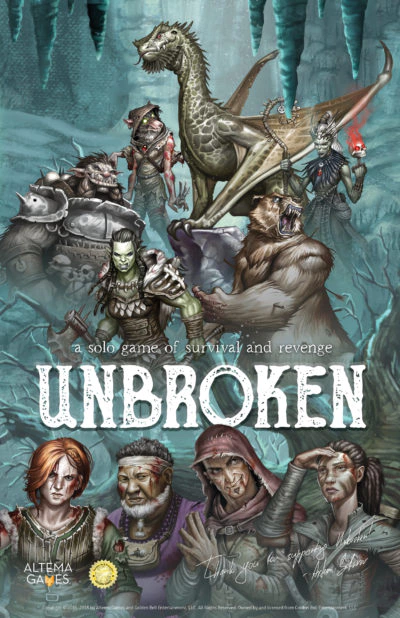 Unbroken: a solo game of survival and revenge by Artem