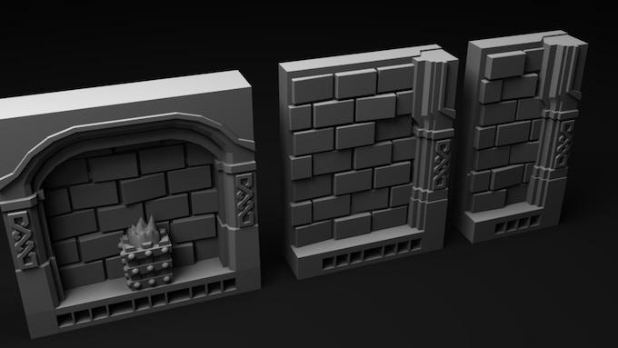Standard wall tiles