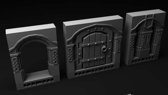 Entrance tiles