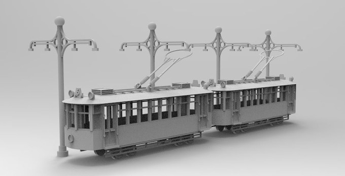 Trams of former Campaigns required