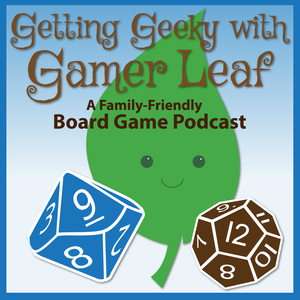 Click on the Getting Geeky With Gamer Leaf logo to hear the full podcast interview!