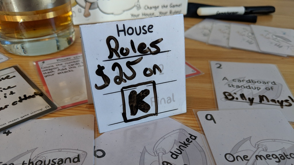 House Rules | An Absurd Party Game project video thumbnail