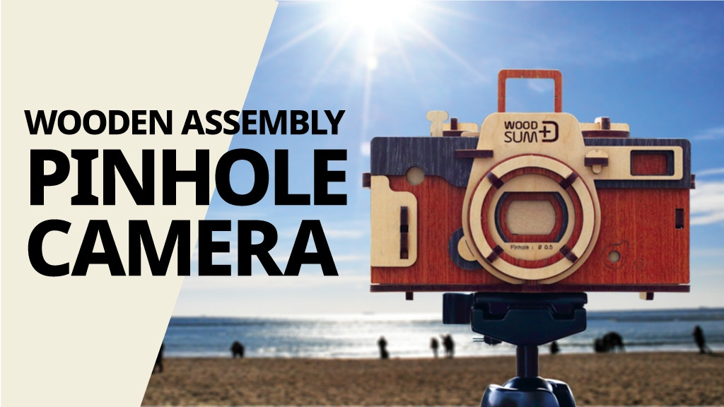 WOODSUM: Easy, Retro, DIY Wooden Assembly Pinhole Camera project video thumbnail
