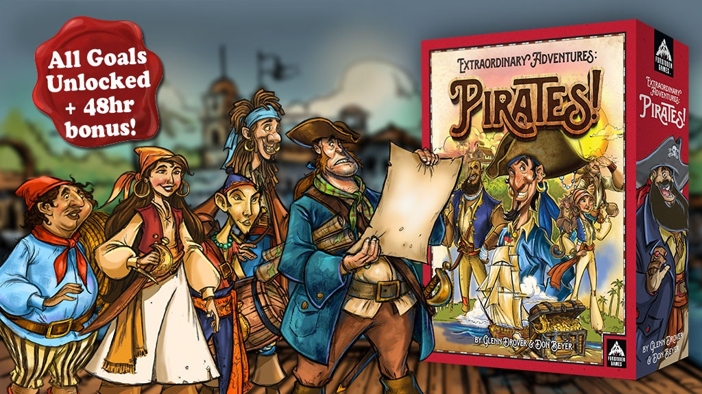 Extraordinary Adventures: Pirates! project video thumbnail