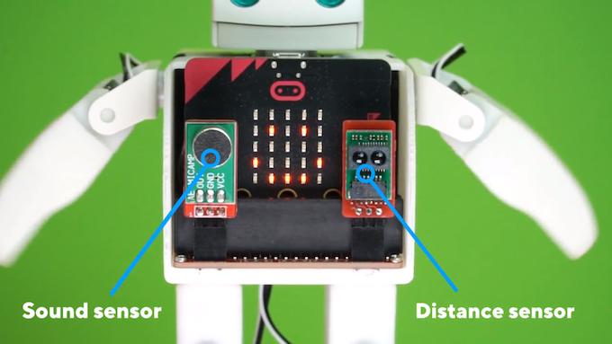 Sound sensor               Distance sensor