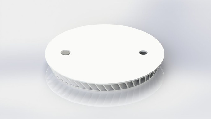 IMPELLER ALARM: WORLD´S THINNEST SMOKE DETECTOR