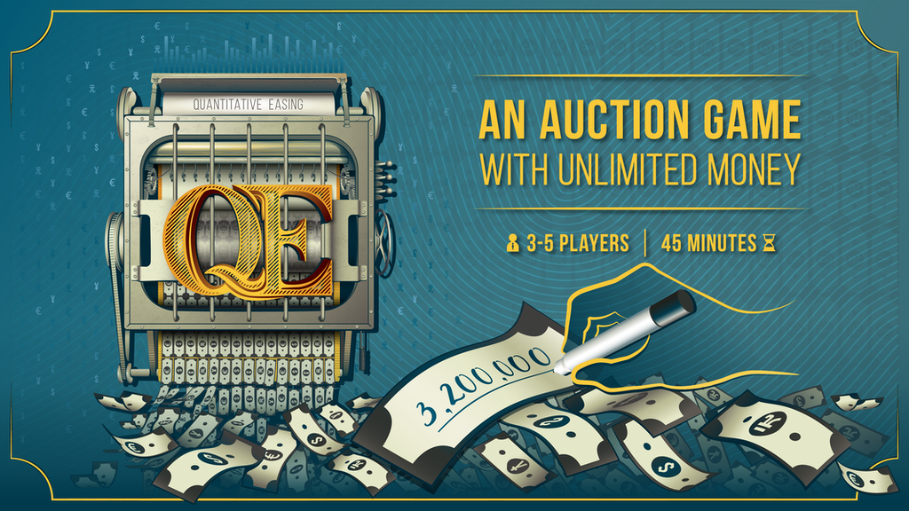 QE: An auction board game with unlimited money. project video thumbnail