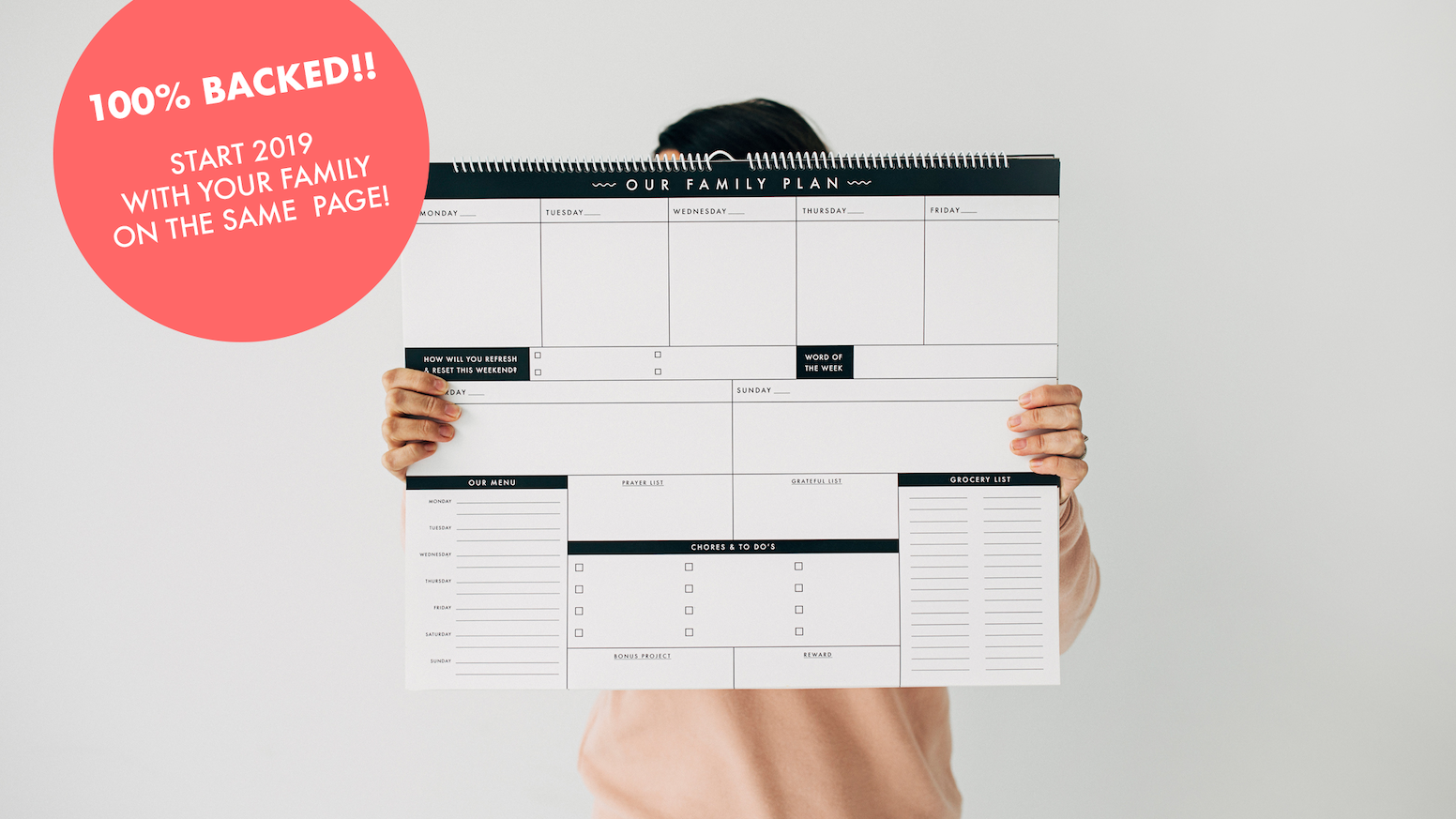 The Family Plan Calendar by T J  Mousetis — Kickstarter