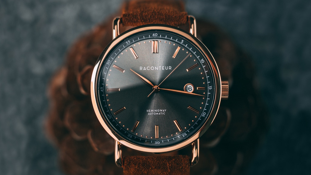 RACONTEUR - Vintage inspired automatic watches from Sweden project video thumbnail