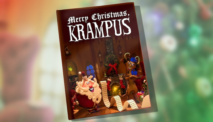 Merry Christmas, Krampus children's book