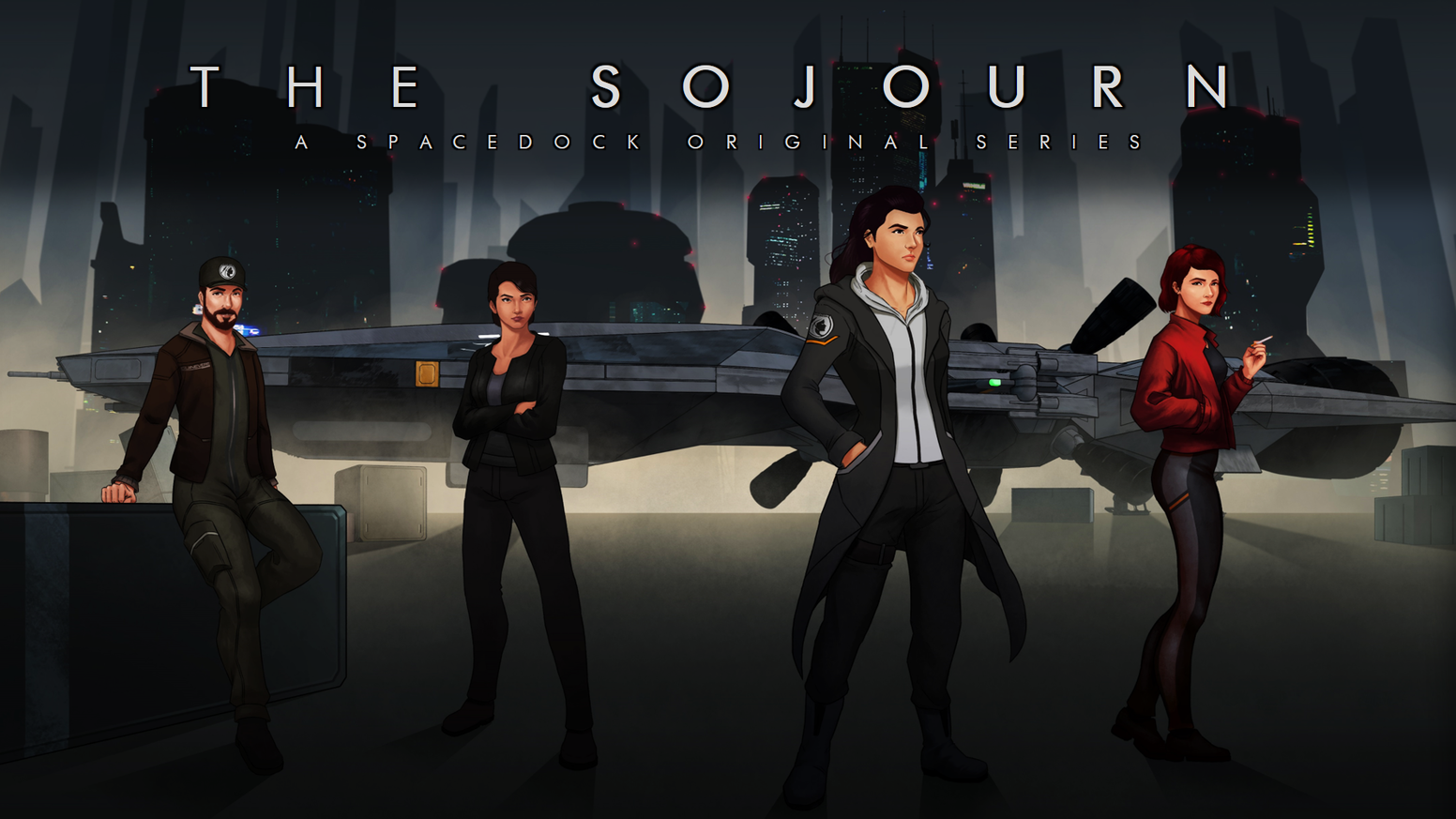 The Sojourn is an original Science Fiction Drama, produced by Spacedock. The series follows a bold expedition into extragalactic space