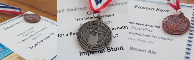 Ed Kent's Homebrew Awards: Single Hop Galaxy IPA, Imperial Stout, & Hoppy Brown Ale