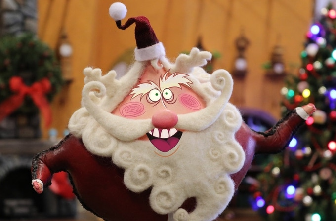 Handmade Santa puppet from Merry Christmas, Krampus.