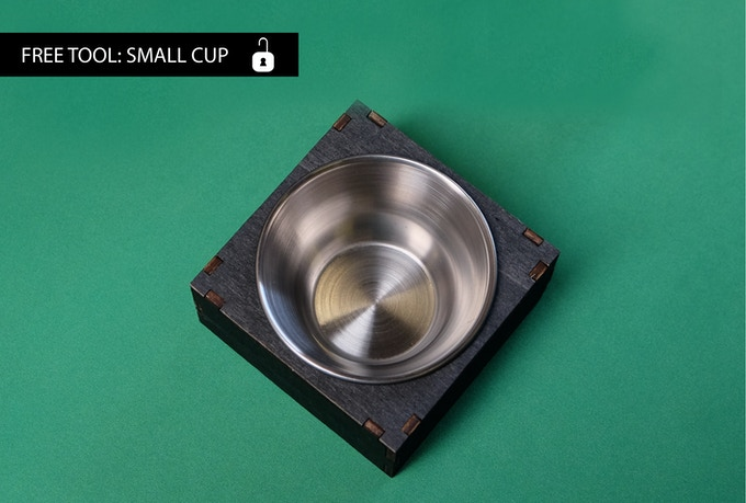 Stand alone small cup, for tokens - Free for every backer who backed a table // Kleines Tokentöpfchen - Gratis für jede/n Tisch-Unterstützer/in