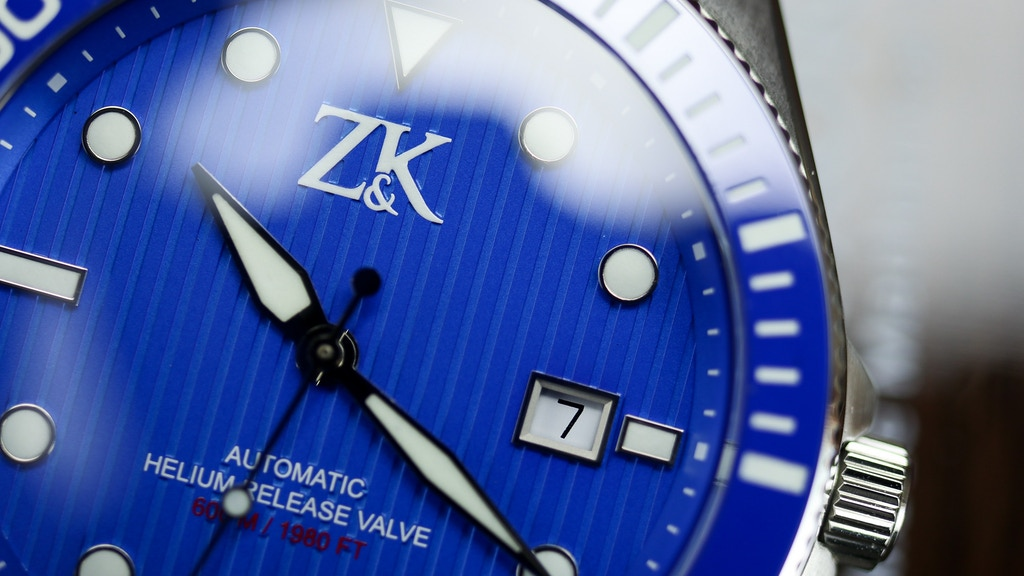 ZK No.2: COSC Certified Swiss Made Automatic Diver/GMT Watch
