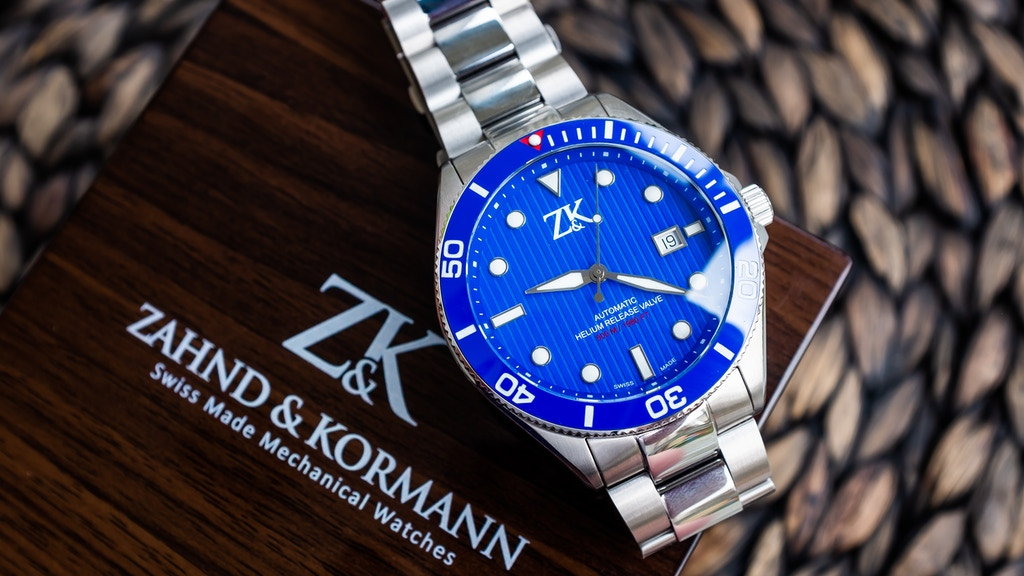 ZK No.2: COSC Certified Swiss Made Automatic Diver/GMT Watch project video thumbnail