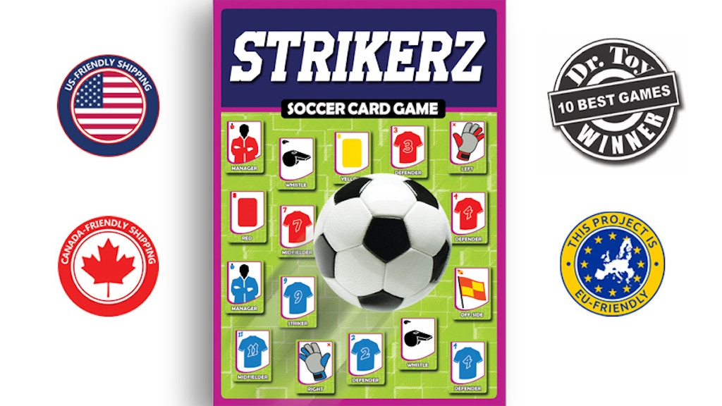 STRIKERZ Soccer Card Game - 2019 project video thumbnail