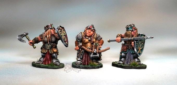 Female Dwarfs