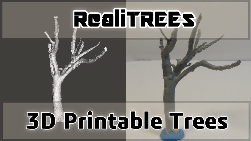 RealiTREEs: Amazing 3D Printable Tree Armatures project video thumbnail