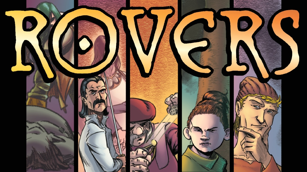ROVERS Book One: Happenstance project video thumbnail
