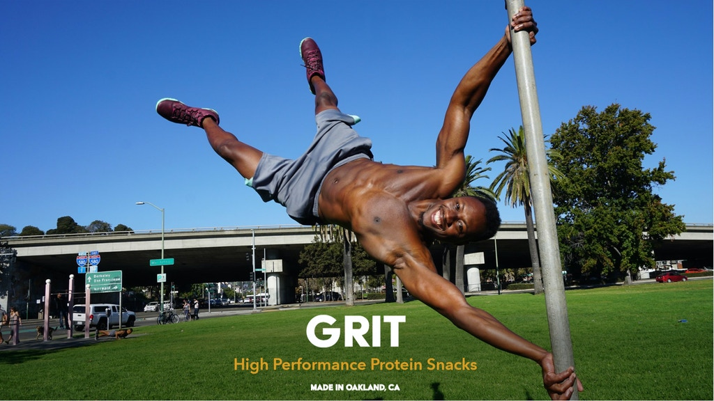 GRIT - The Perfect Protein Snack project video thumbnail
