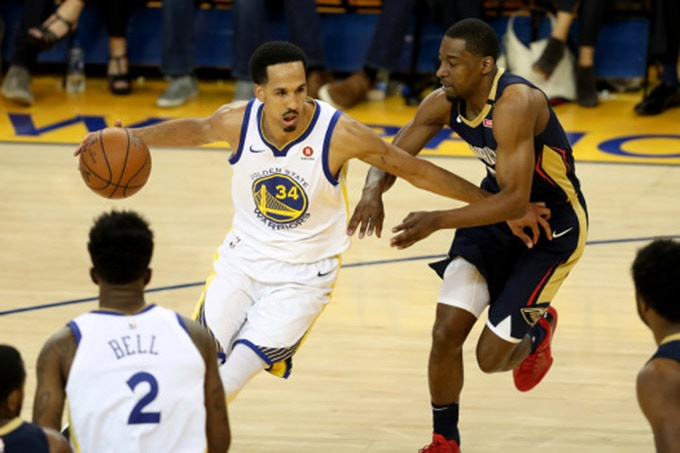14 year NBA veteran & 3-time champion, Shaun Livingston of the Golden State Warriors.