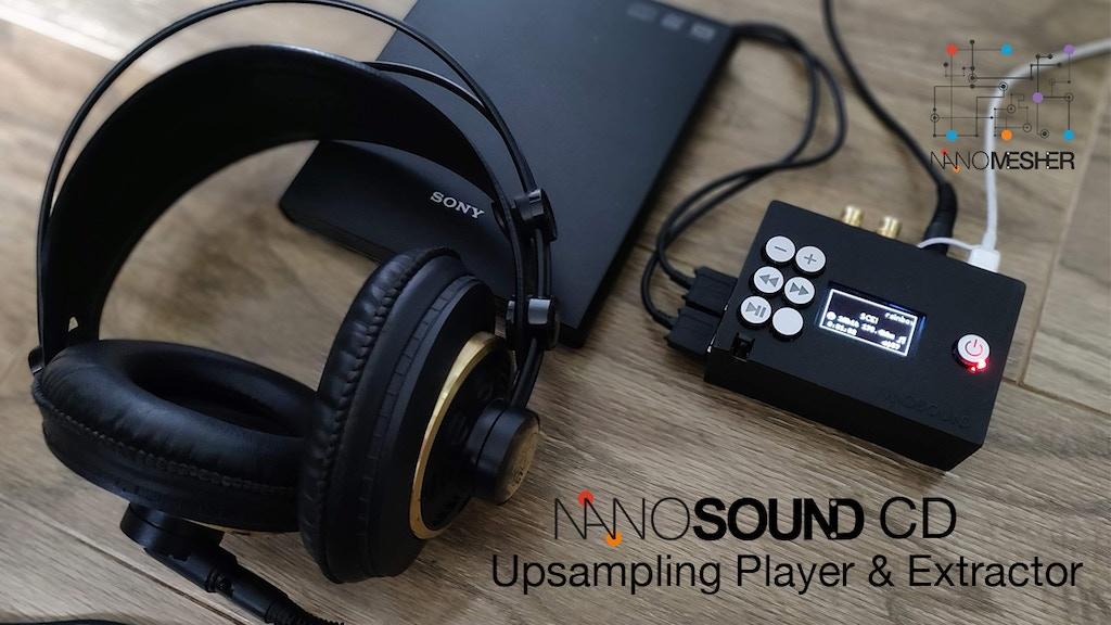 NanoSound CD - Hi-Def Network CD Player & Audio Extractor